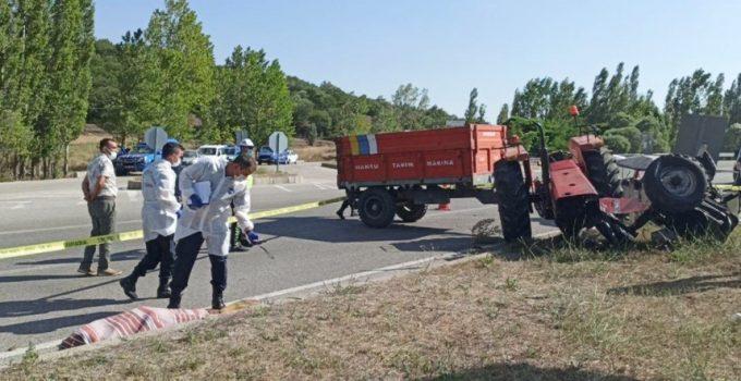 Traktör İkiye Bölündü: 3 Ölü, 2 Yaralı