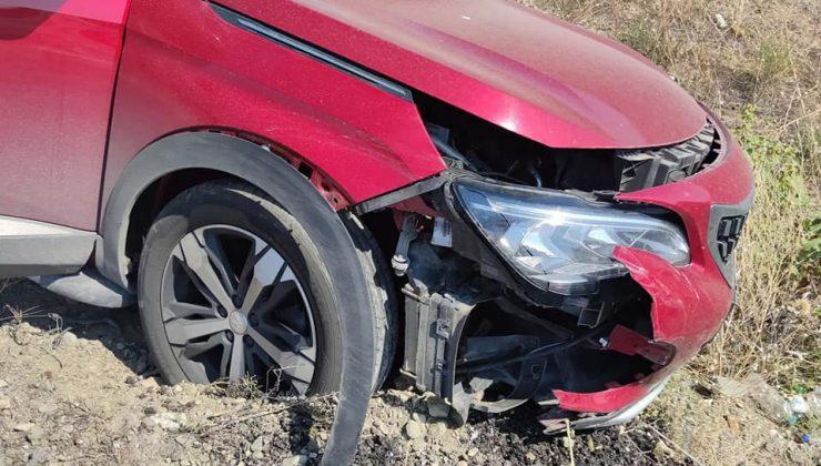 Beyaz Tv Ekibi Çorum'da Kaza Yaptı