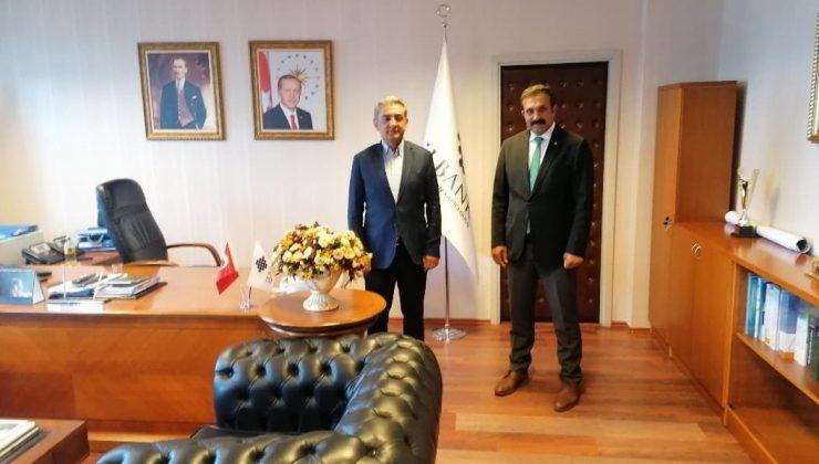 Başkan Torun İller Bankası Bölge Müdürü Yanar'ı Ziyaret Etti
