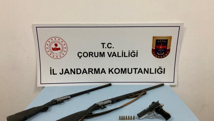 Jandarma Silah Kaçakçılarına Geçit Vermiyor