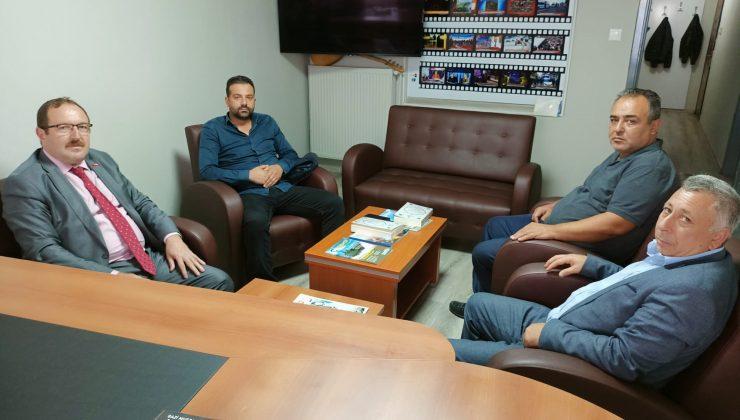 Kaplan ve Bayrak'tan Leblebi TV'ye Nezaket Ziyareti
