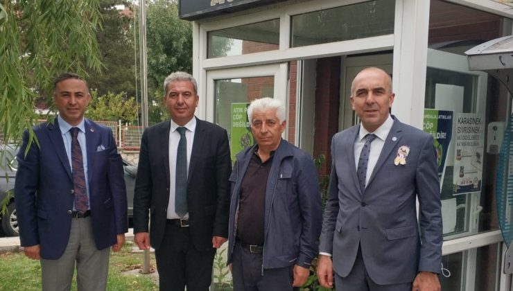 CHP ve İYİ Parti'den Muhtar Şahin'e Ziyaret
