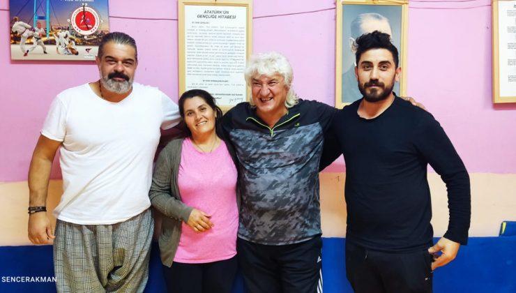 Sinema Oyuncusu Şevki Özcan Bahar Spor Kulübünü Ziyaret Etti