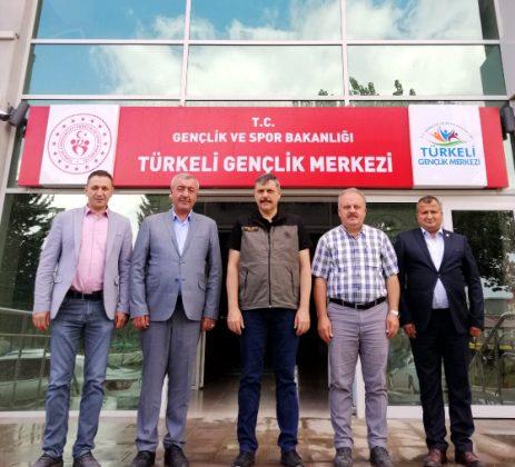 Çorumlu Başkanlardan Türkeli'ye Geçmiş Olsun Ziyareti