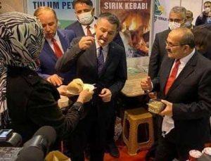 Bakan Pakdemirli Başkan Şen'i Tebrik Etti