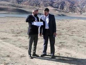 Hatap Barajı'nda 1 Milyon Metreküp Su Kaldı