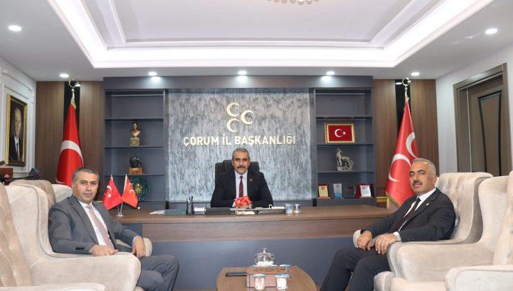 Başkan Ocaklı, Karapıçak'ı Yeni Binada Ziyaret Etti